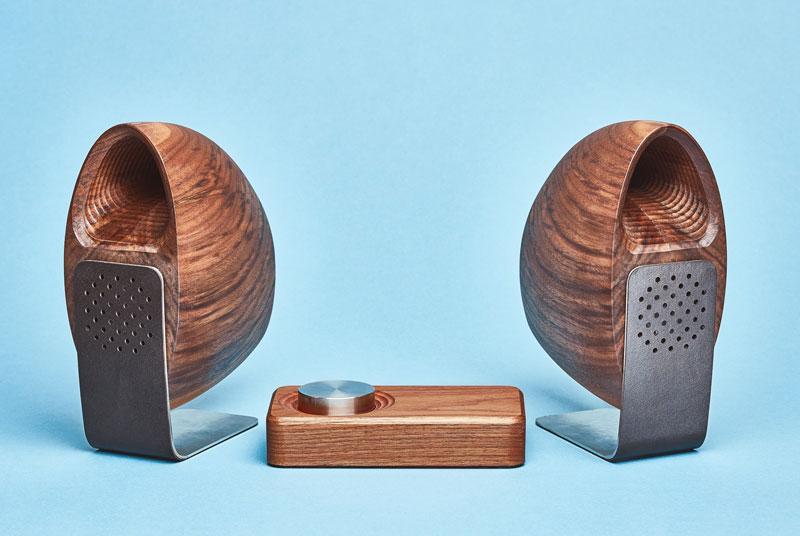 Grovemade speaker, walnoot