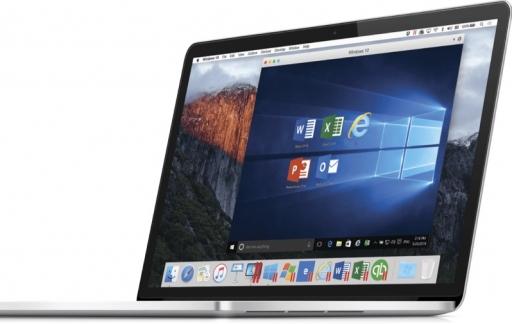 Parallels Desktop 12 voor de MacBook.
