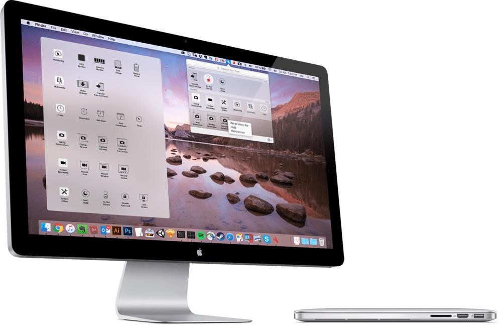Parallels Tools voor de Mac.