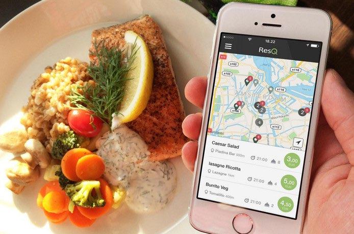 ResQ App: kliekjes van restaurants