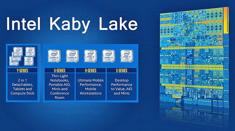 Kaby Lake roadmap