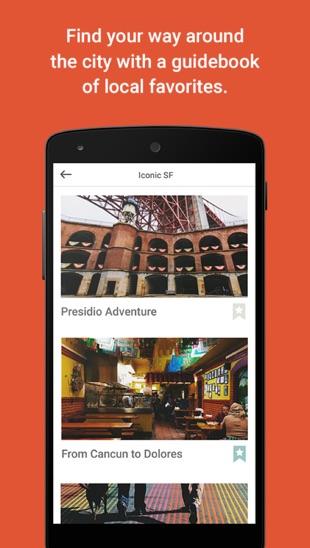 Airbnb Trips is een nieuwe app die je op reis helpt.