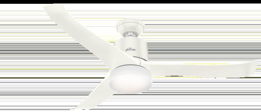 Ventilator wit plastic