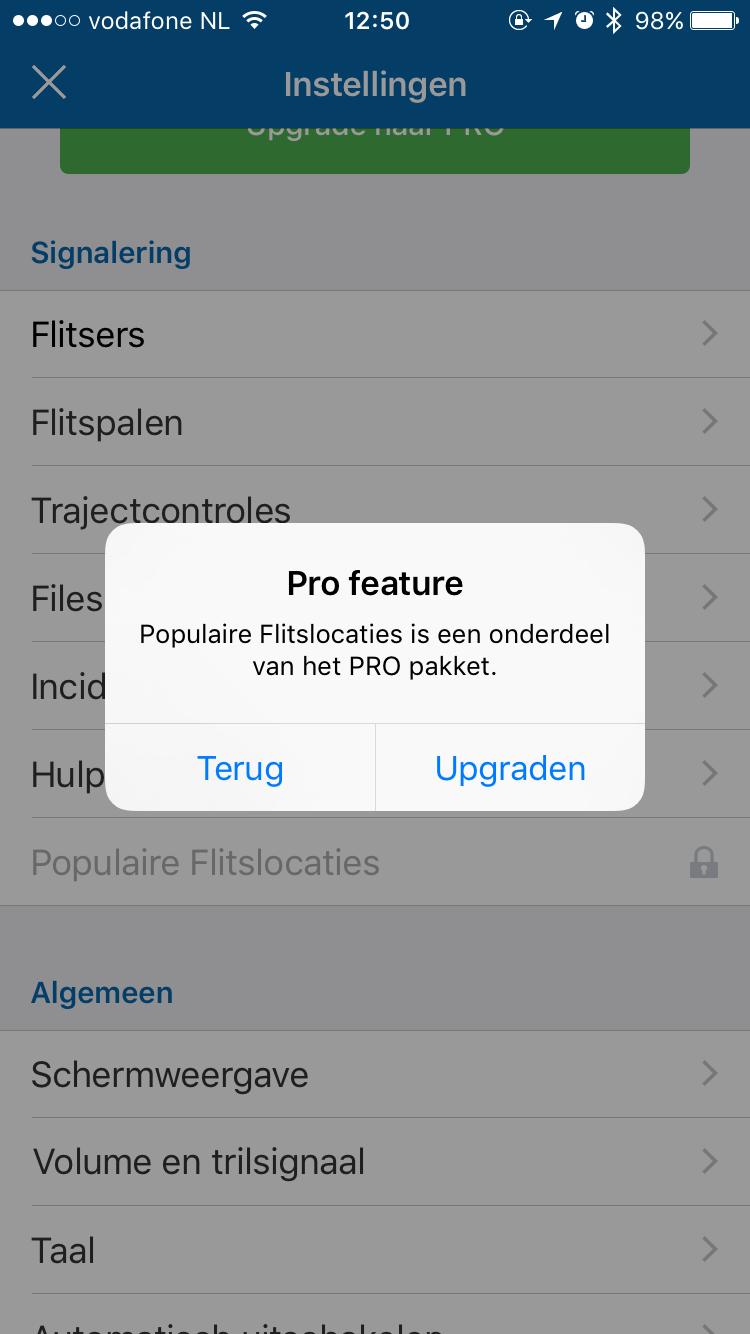 Populaire flitslocaties bij Flitsmeister.