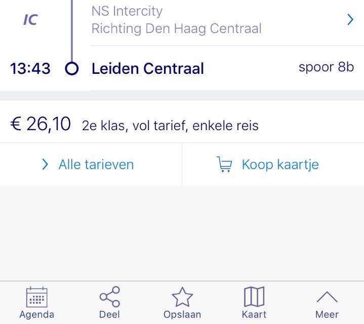NS Reisplanner Xtra met verbeterd reisadvies