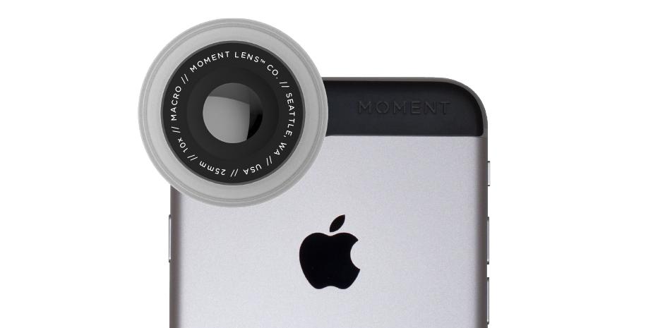 Macro lens van Moment