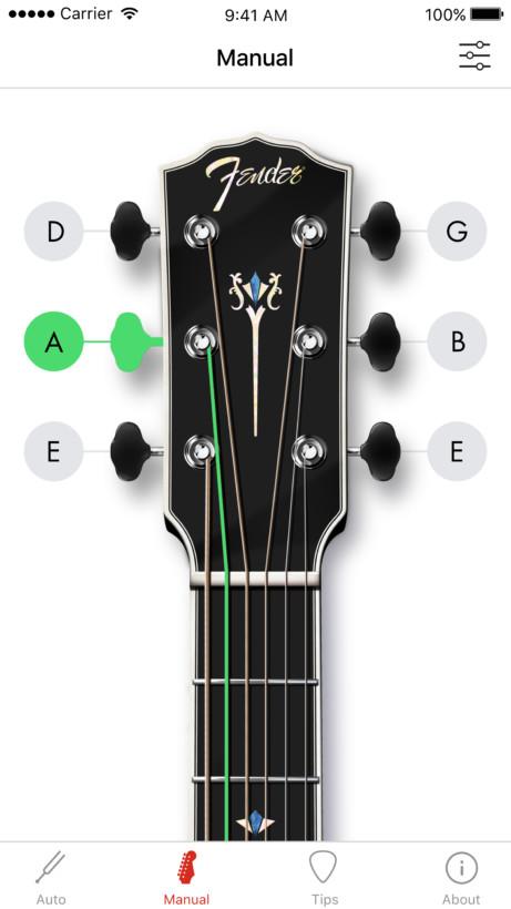 Handmatig je gitaar stemmen