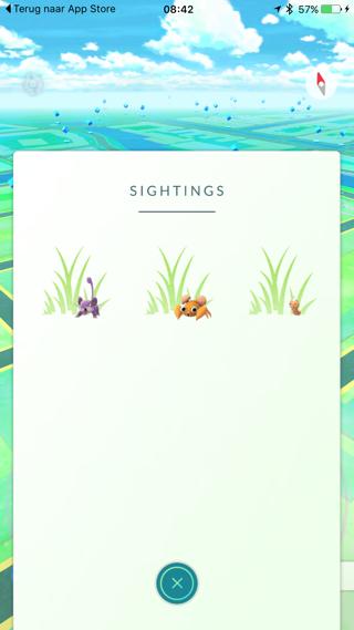 Pokémon Go nabij