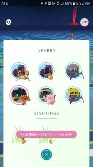 Pokemon nabij, een experiment