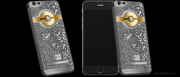 Caviar Pokemon iPhone