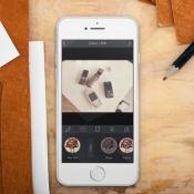 Brushstroke voor de iPhone.