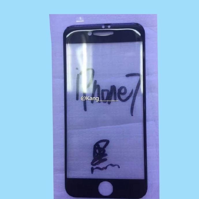 Frontje van de iPhone 7.