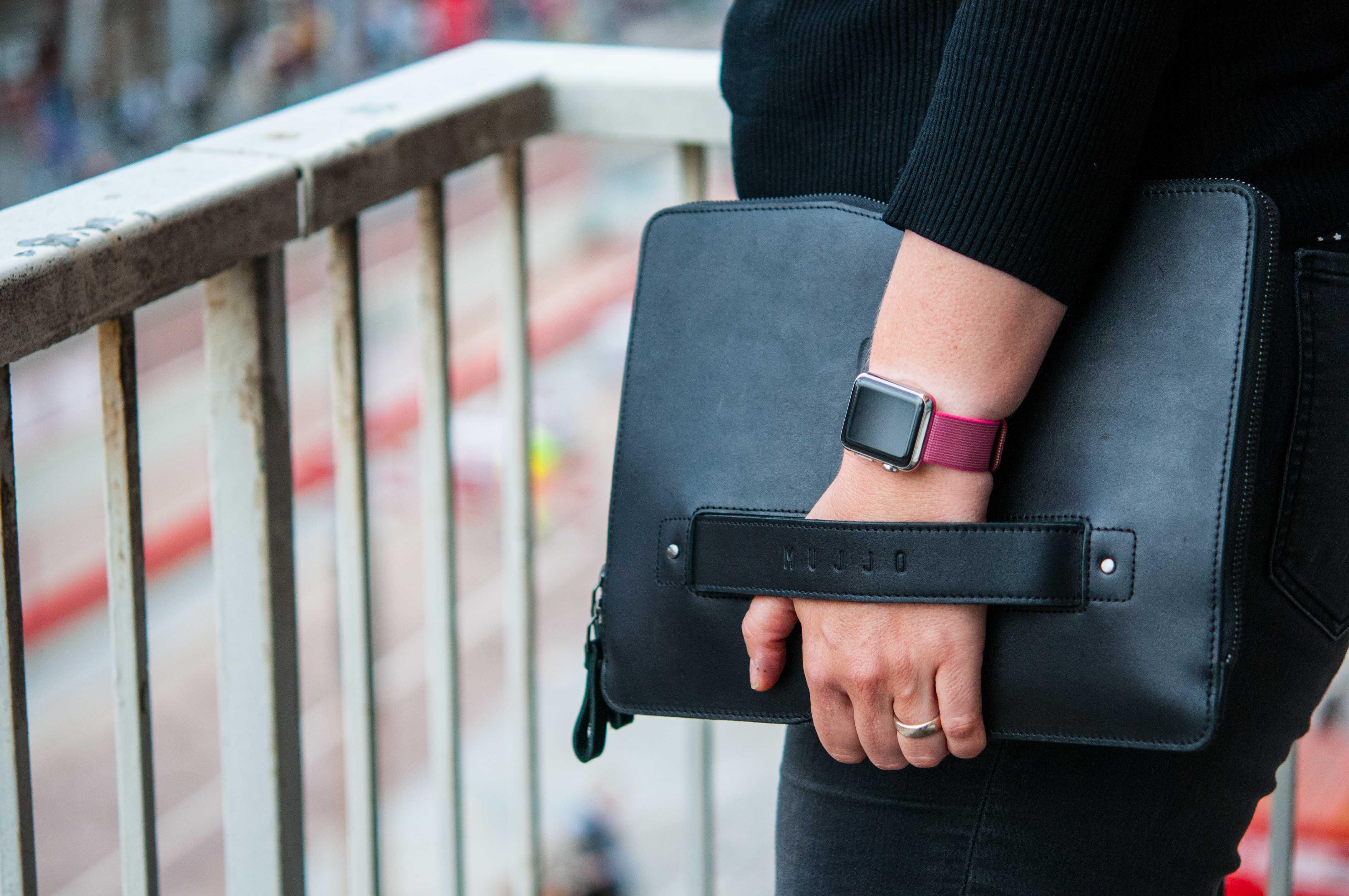 Mujjo Carry-On Sleeve voor 12-inch MacBook