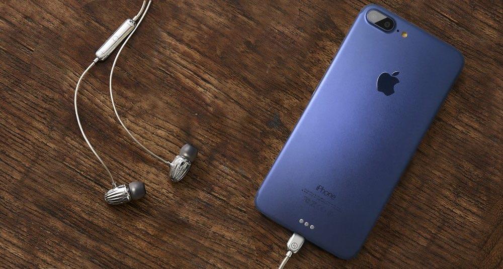 BeSound iPhone 7 mockup blauw