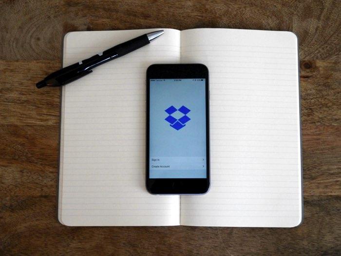 Dropbox Paper notitieboek