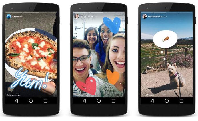 Instagram Stories ook op Android