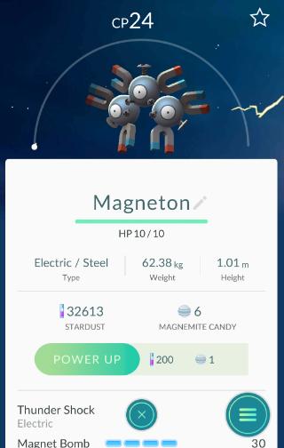 Pokémon GO Magneton