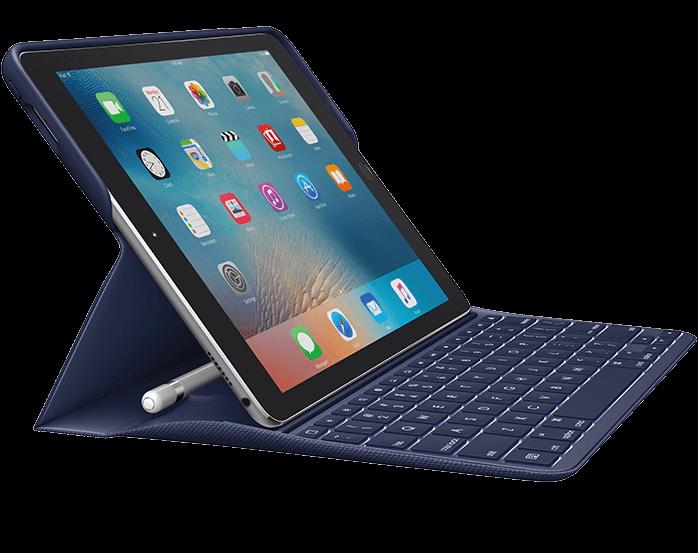 Logitech CREATE toetsenbord voor 9,7-inch iPad Pro.