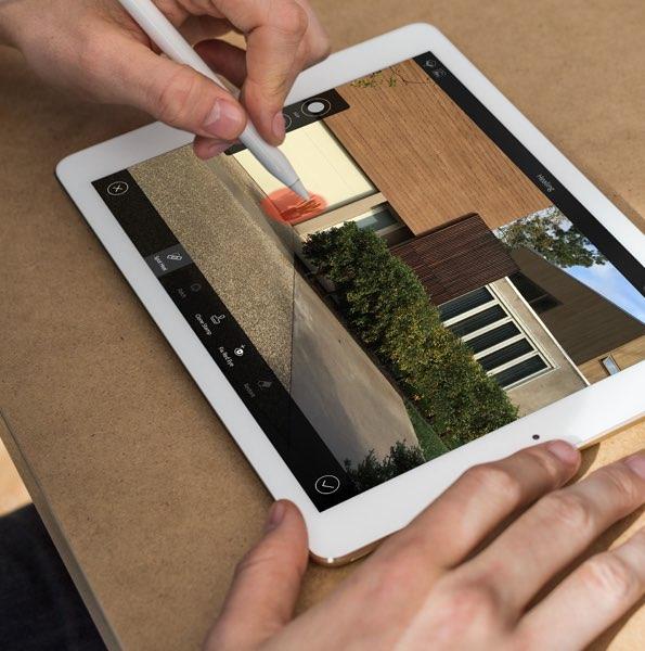 iPad Pro zakelijk, fotoshoot
