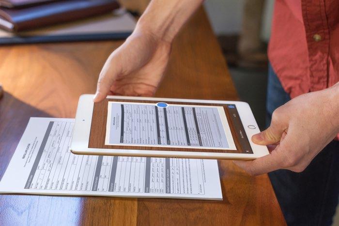 iPad Pro zakelijk met Evernote