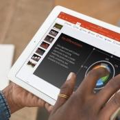 iPad Pro zakelijk met Office-app