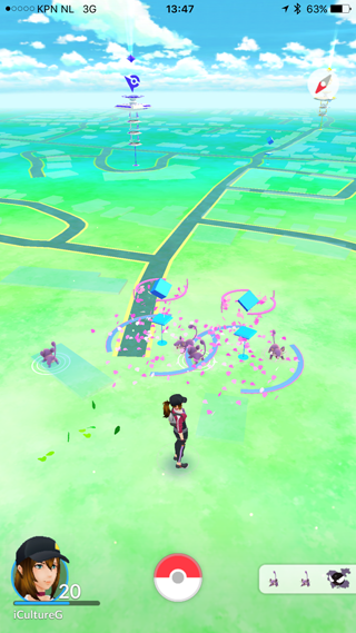 Lures in Pokémon Go
