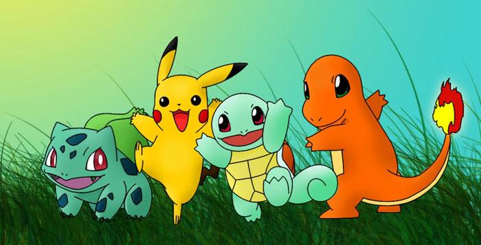 Pokemon zoeken in de juiste omgeving