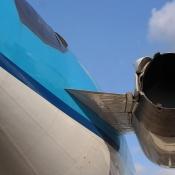 KLM vliegtuig schiphol