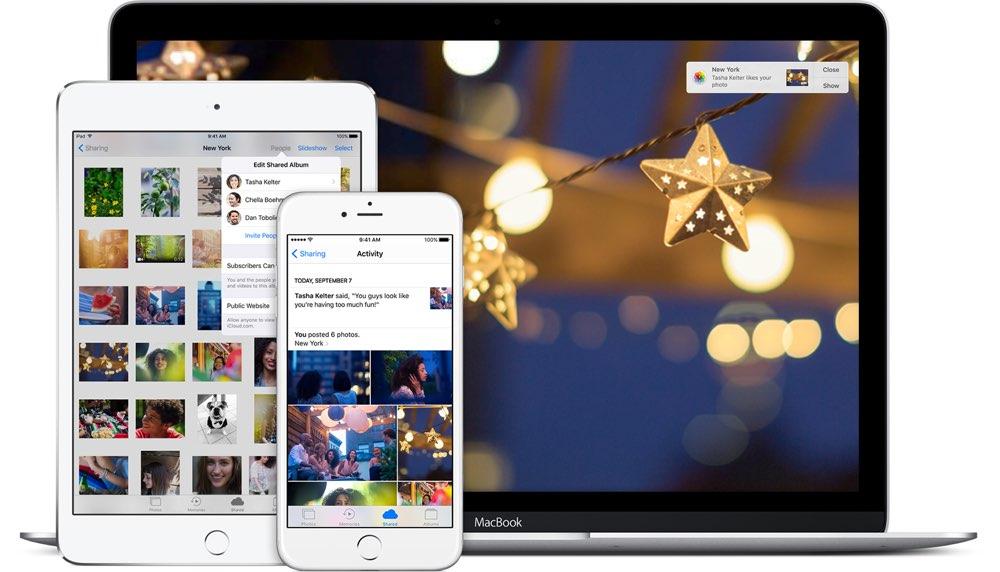 iCloud Fotodelen op iPhone, iPad en Mac