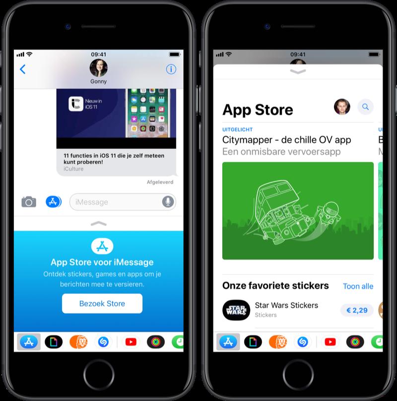 iMessage-app installeren en downloaden.