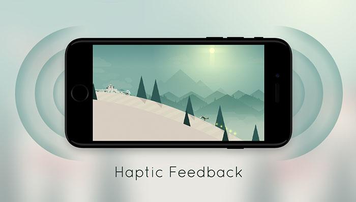 Alto's Adventure met taptic feedback