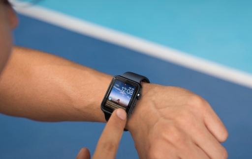Glimpse op de Apple Watch.