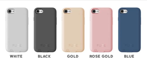 Fuze Case in meerdere kleuren.