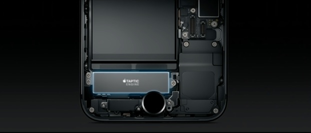 Taptic Engine in de iPhone 7.
