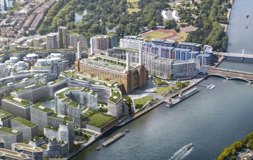 Apple's nieuwe Battersea campus in Londen