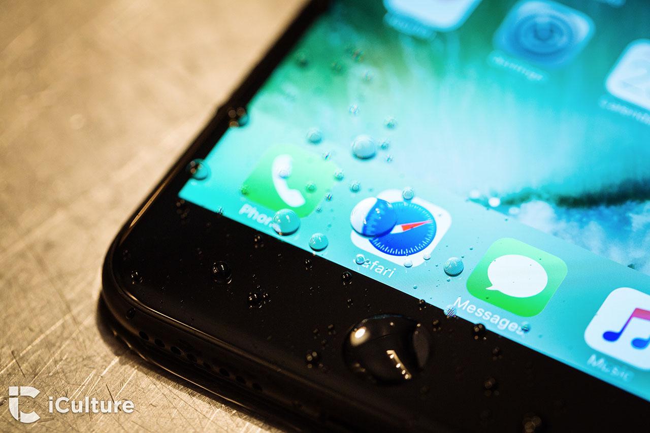 iPhone 7 review: de iPhone 7 overleeft 30 minuten in ondiep water