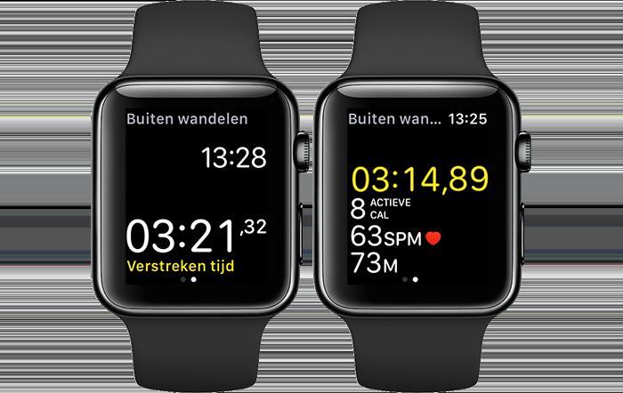 Apple Watch: workout-data bekijken