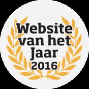 Website van het Jaar 2016 logo