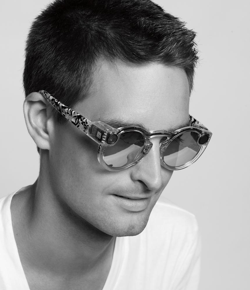Spectacles met Evan Spiegel