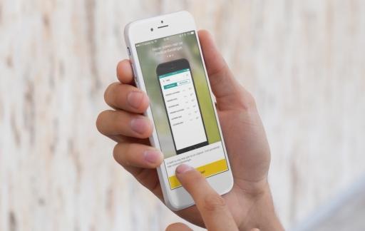 De ABN AMRO-app laat je zoeken door je creditcardbetalingen.