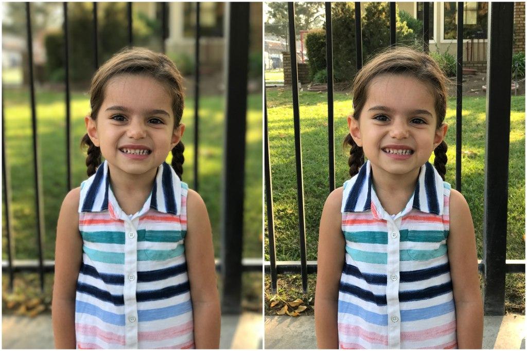 Portretmodus iOS 10 - meisje