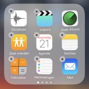 Standaardapps verwijderen van je iPhone en iPad
