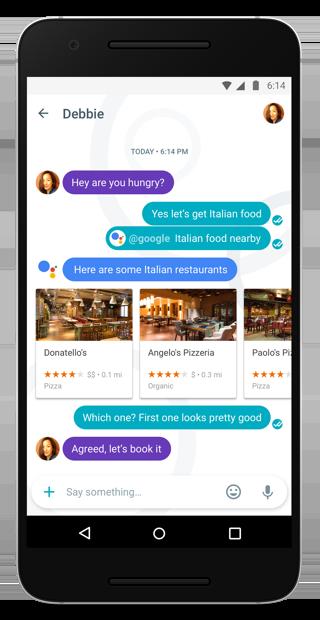 Google Allo: de Google Assistant