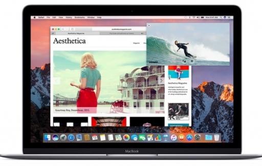 Safari 10 voor de Mac.