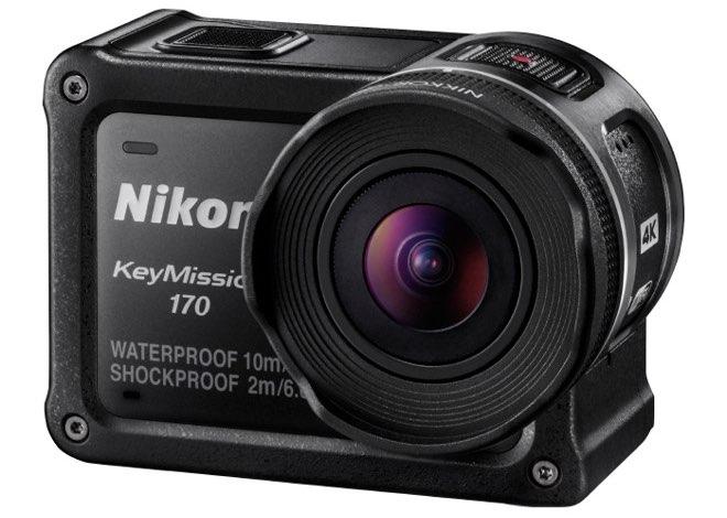 Nikon KeyMission 170 camera front