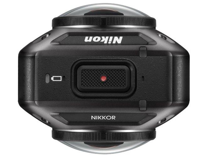 Nikon Keymission bovenaanzicht