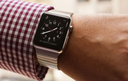 Tijdstip checken op Apple Watch
