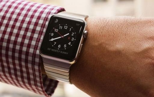 Tijdstip checken op Apple Watch