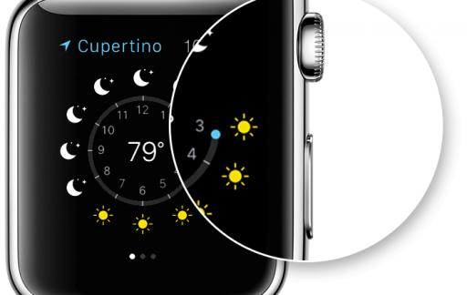 Schermafbeelding maken op de Apple Watch.