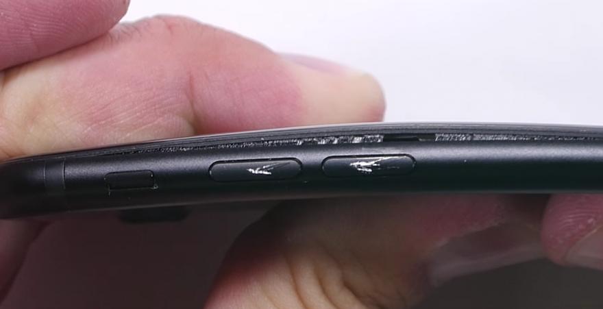 iPhone 7 zwart waterbestendige lijm